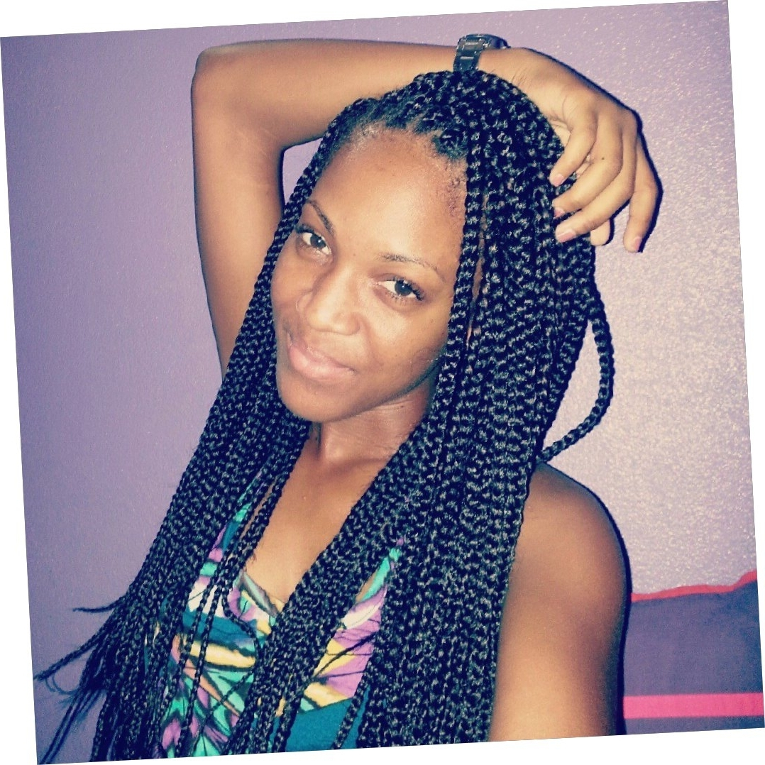 Braid Hairstyles : Simple Hairstyles For Poetic Justice Braids Pertaining To Newest Poetic Justice Braids Hairstyles (View 1 of 15)