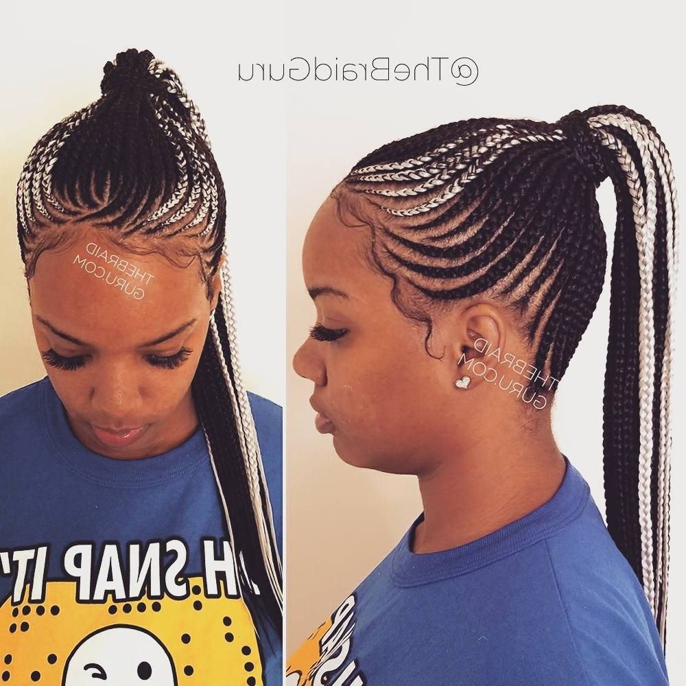 Braided Hairstyles Cornrows Beautiful My Work Cornrow Ponytail Intended For Well Known Cornrows Ponytail Hairstyles (View 7 of 15)