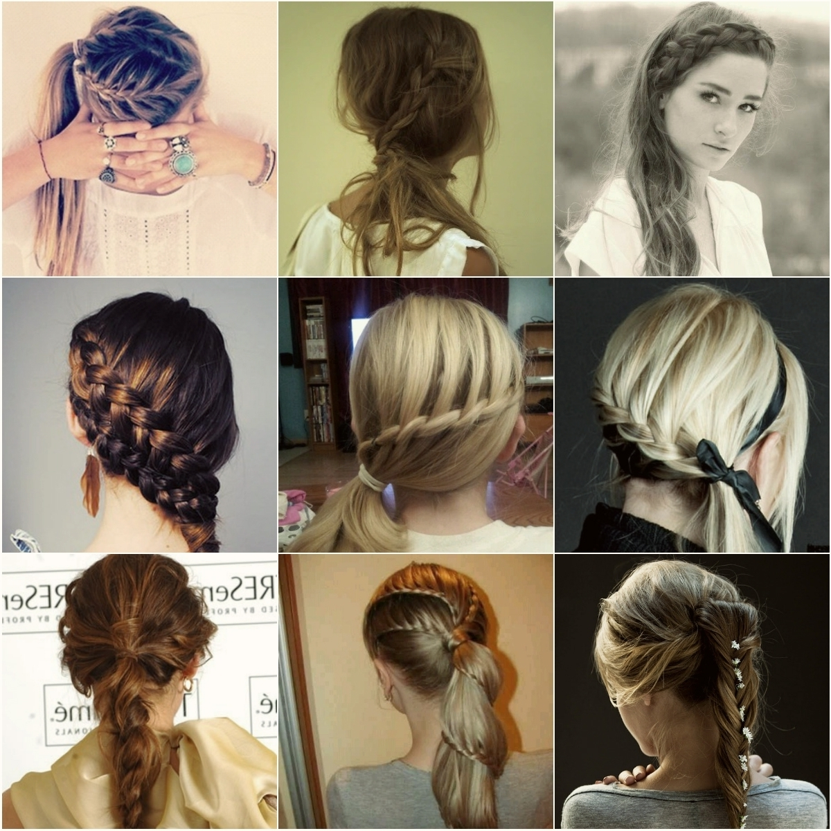 Braided Hairstyles Gallery 2018 — Braided Hairstyles Gallery 2018 With Recent Artistically Undone Braid Hairstyles (View 3 of 15)