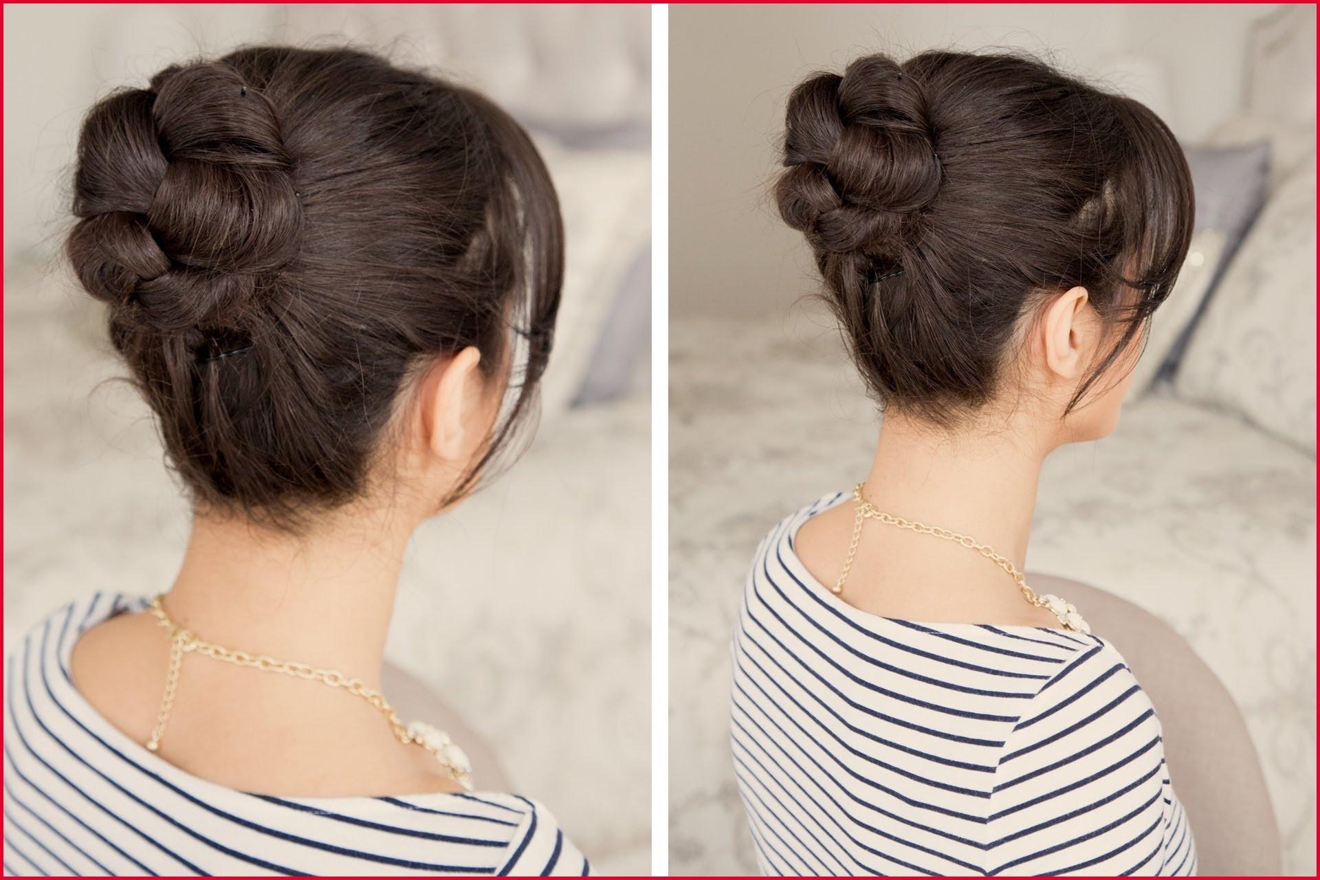 Braided Hairstyles In A Bun 235827 How To Braided Bun Hair Tutorial In Favorite Bun And Braid Hairstyles (View 11 of 15)