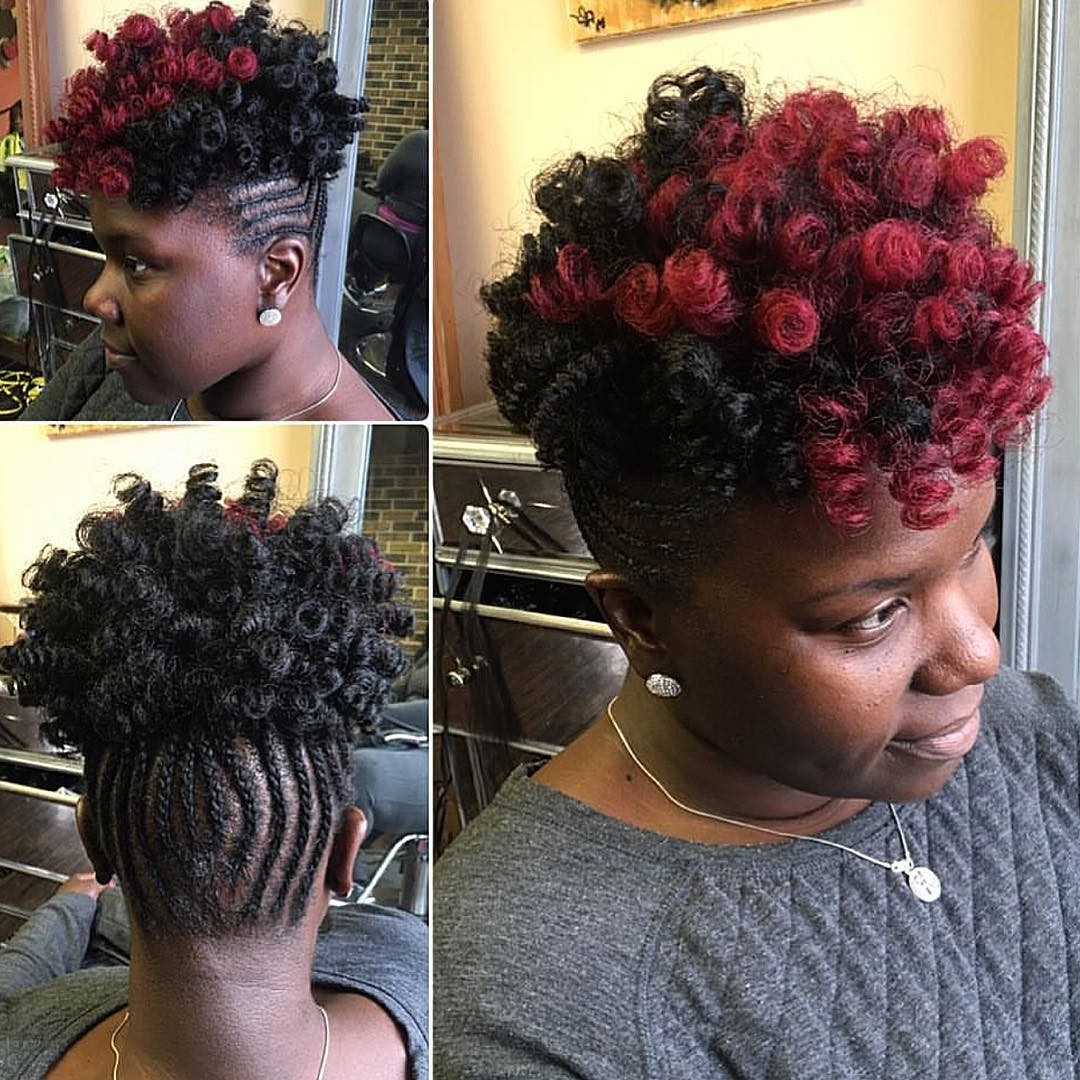 Braided Hairstyles Pinned Up Awesome 3 Feed In Cornrows I Like Inside 2017 Cornrows Hairstyles Going Up (View 5 of 15)
