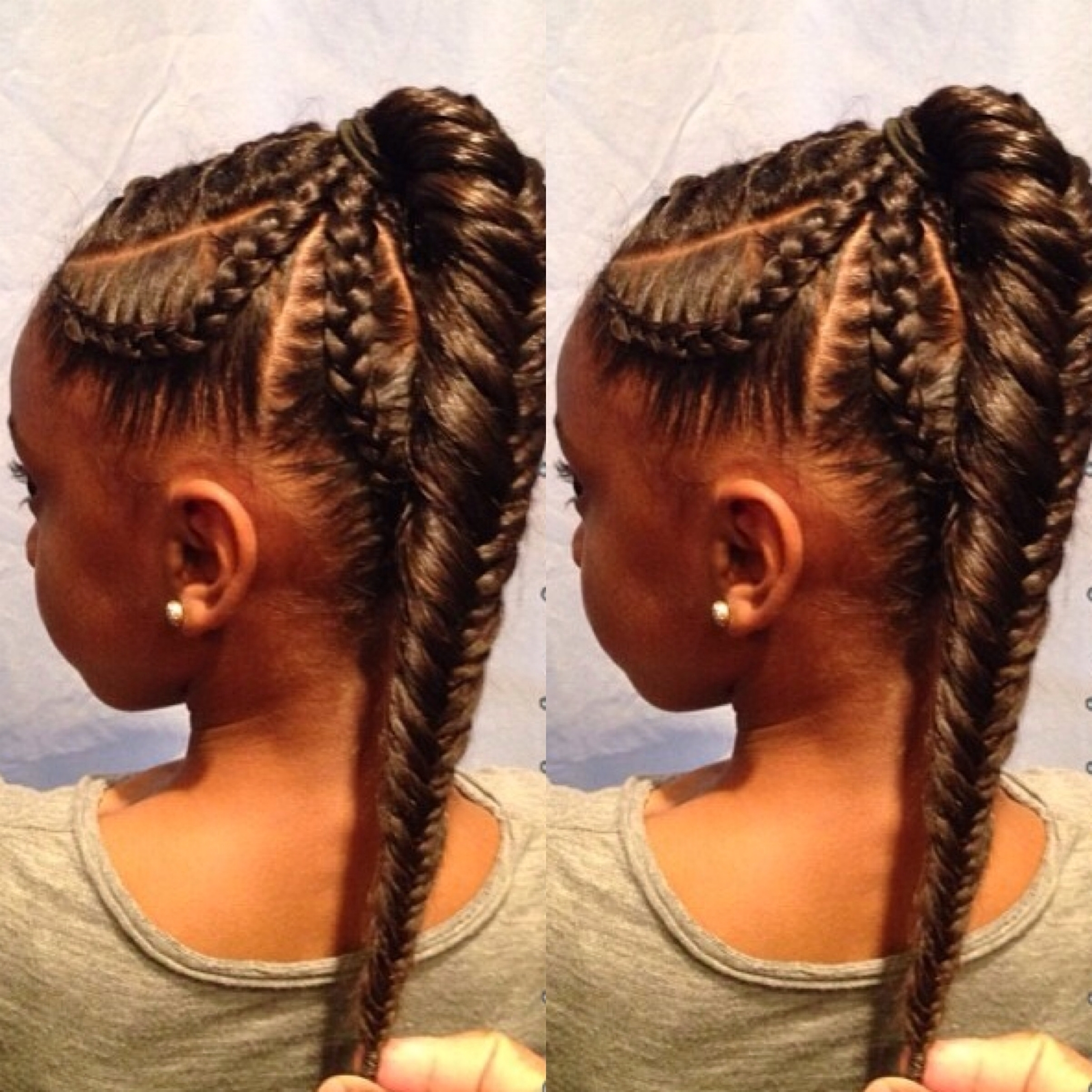 Braided Ponytail Hairstyles For Black Hair – Innoviustech Regarding Current Braided Ponytail Hairstyles (View 5 of 15)