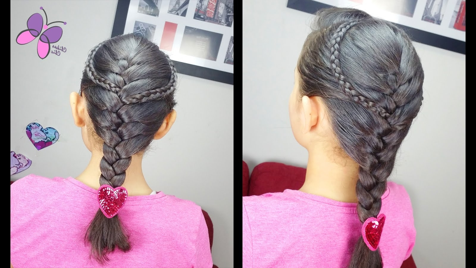 Braided With Regard To Well Liked Two Classic Braids Hairstyles (View 12 of 15)