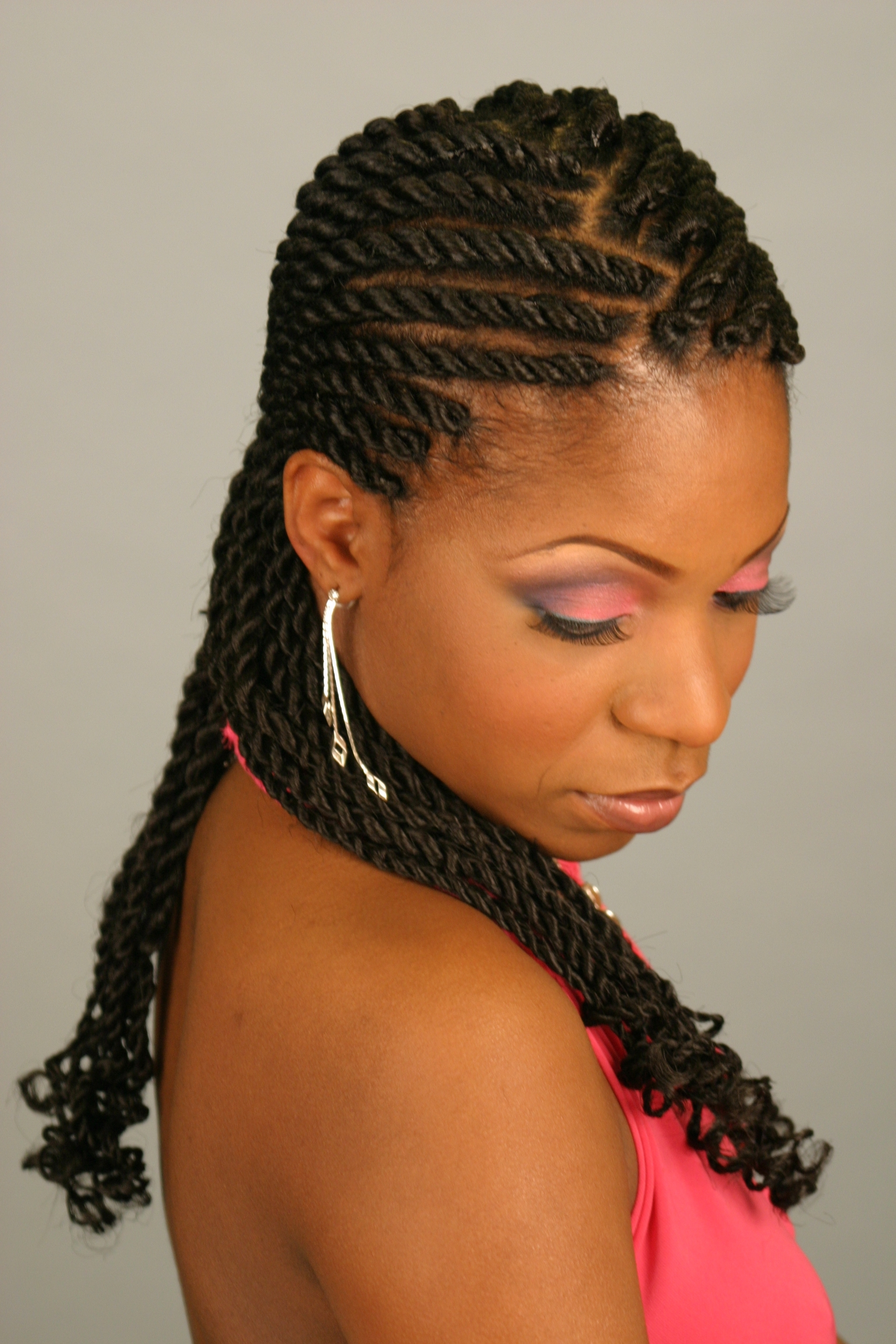 Braiding In Maryland Regarding Current Cornrows With A Twist (View 3 of 15)