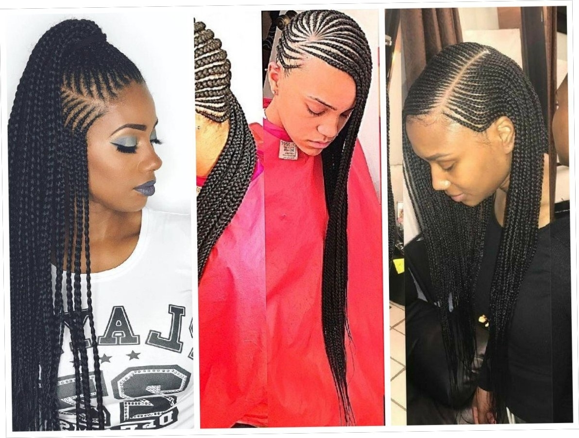 Braids Inspiration: Must See Creative Cornrow Styles – Wedding Throughout Recent Creative Cornrows Hairstyles (View 7 of 15)