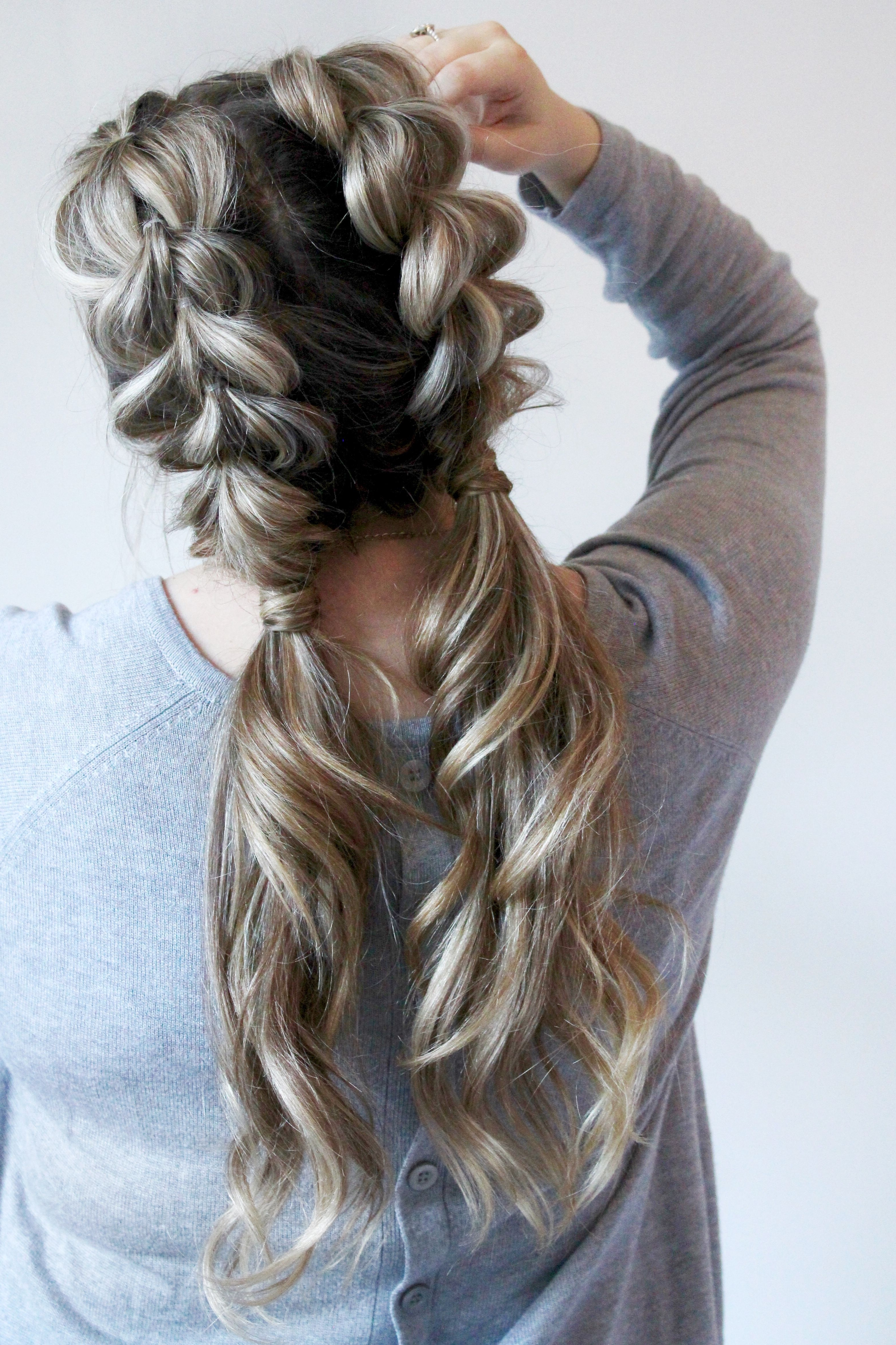 Cassie Scroggins Throughout Most Recently Released Pigtails Braids With Rings For Thin Hair (View 12 of 15)
