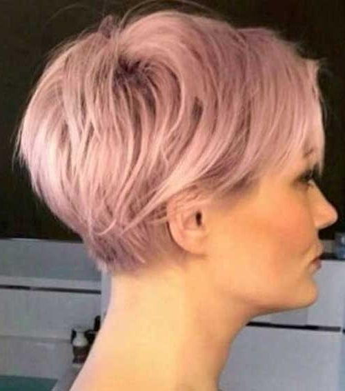 Charming Short Hair Color Ideas (View 6 of 15)