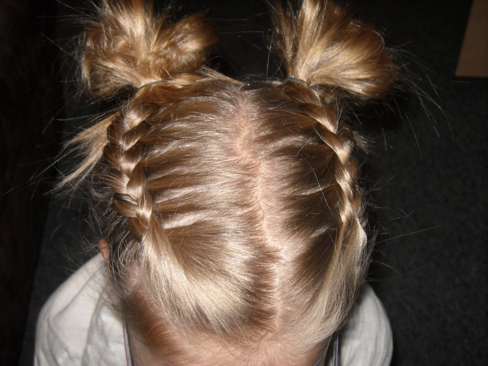 Chic Clips Hair: Swim Hair Part 20000894 Pertaining To Trendy French Braids Into Pigtails (View 5 of 15)