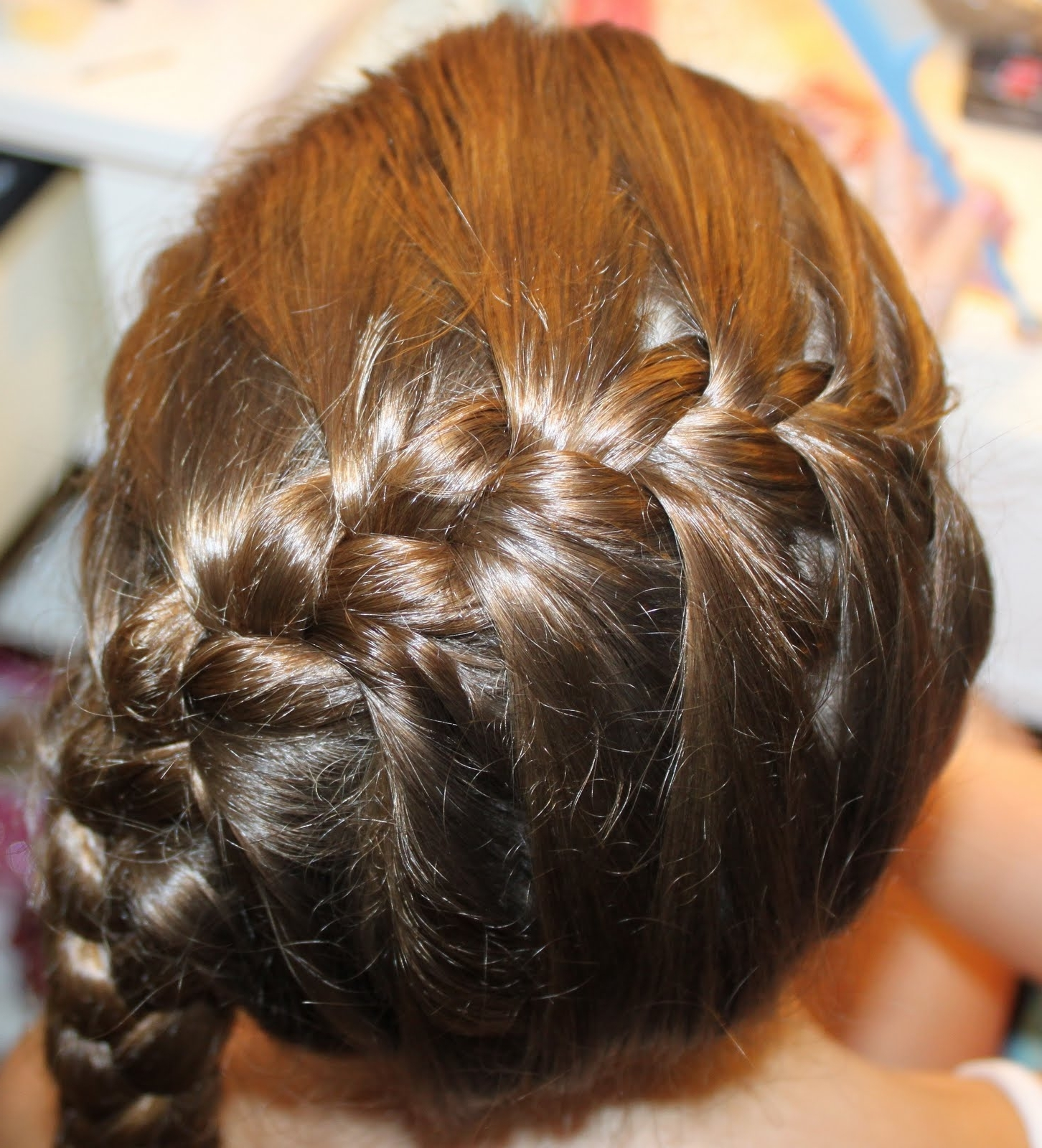 Chicago Hair Style: Diagonal French Braid To Bun Throughout Most Up To Date Diagonal French Braid Hairstyles (View 2 of 15)