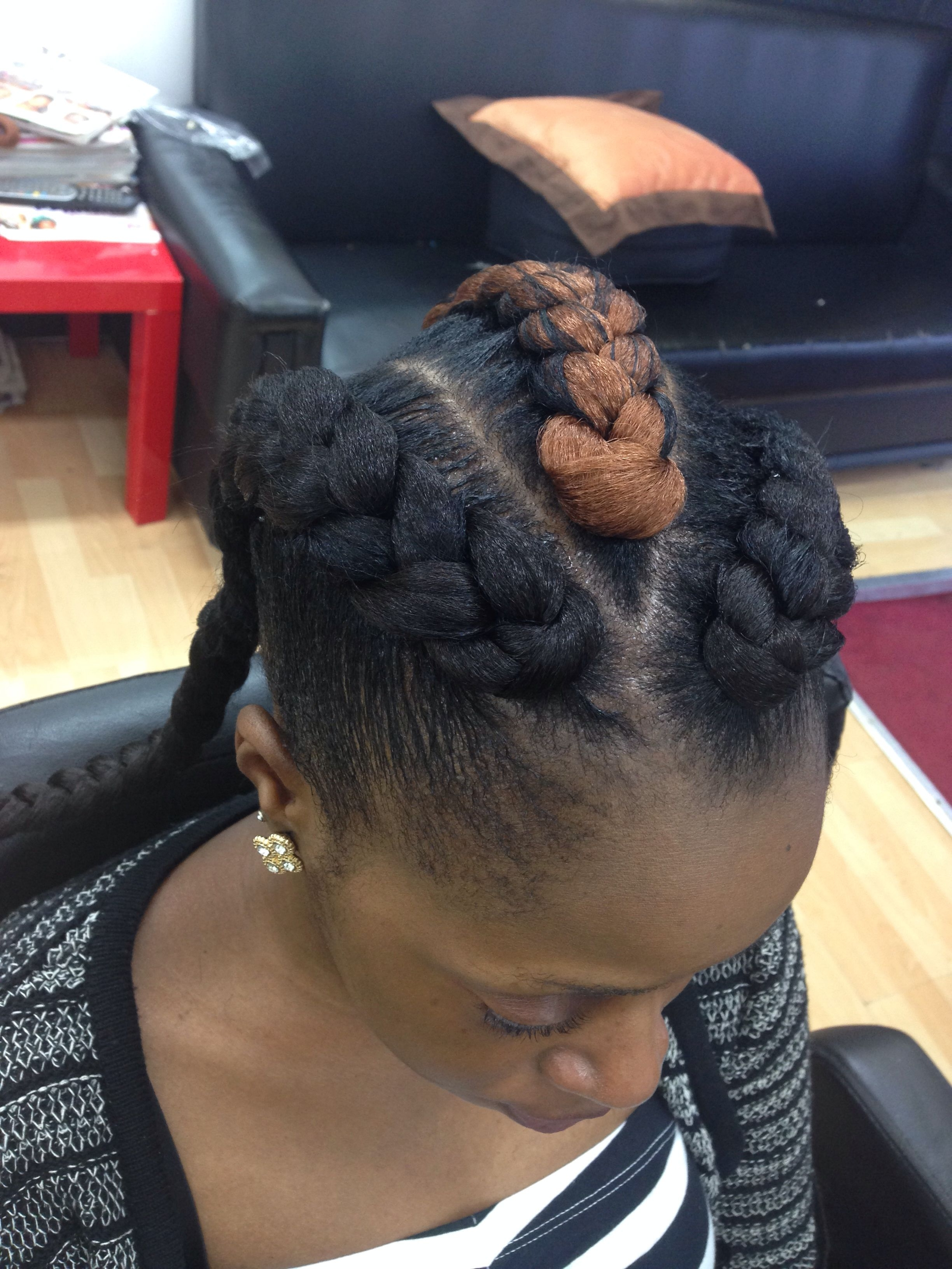 Chunky Cornrows (View 8 of 15)