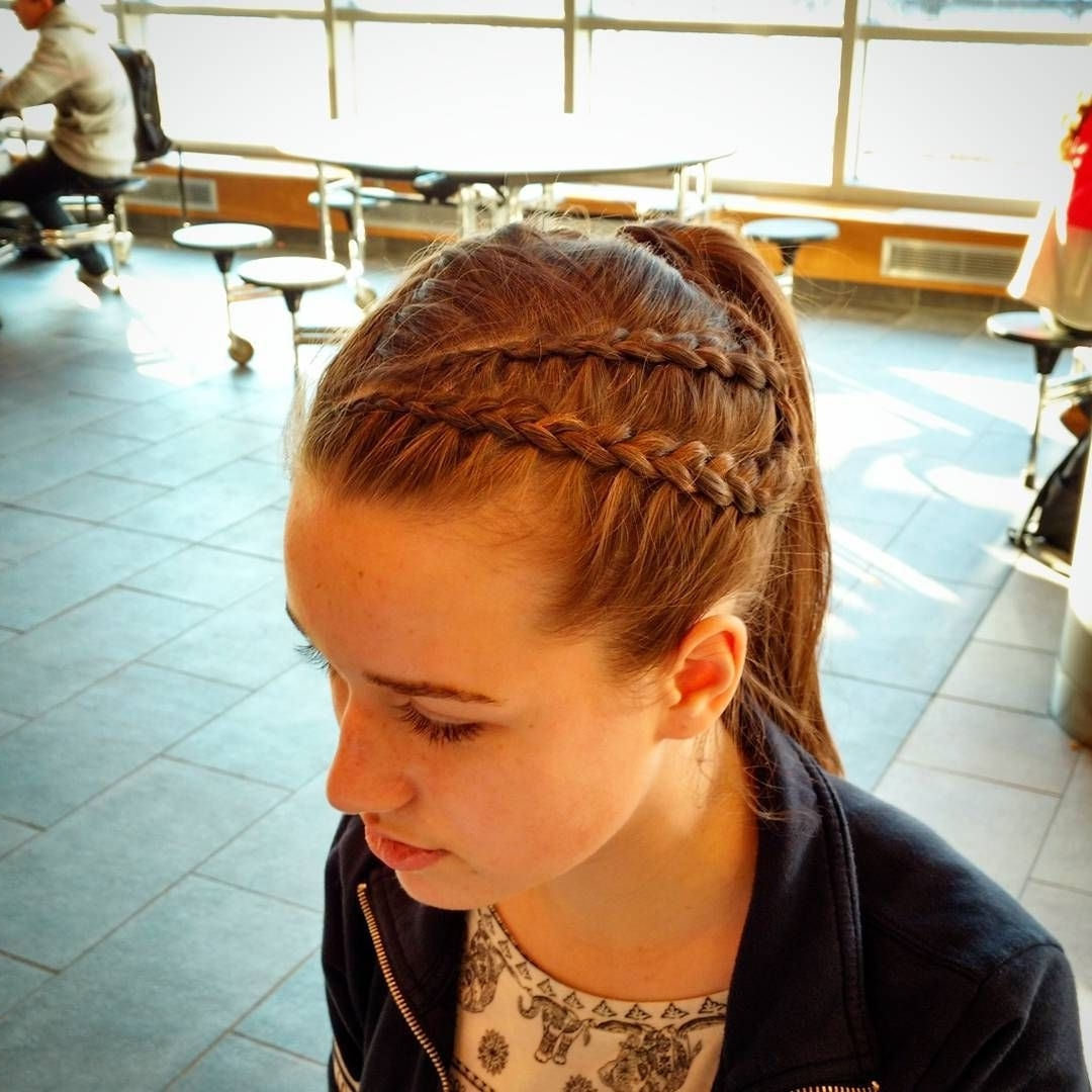 Cool 30 Cool Dutch Braid Ideas — Versatile And Exotic Hair Trends Regarding Favorite Exotic Twisted Knot Hairstyles (View 3 of 15)