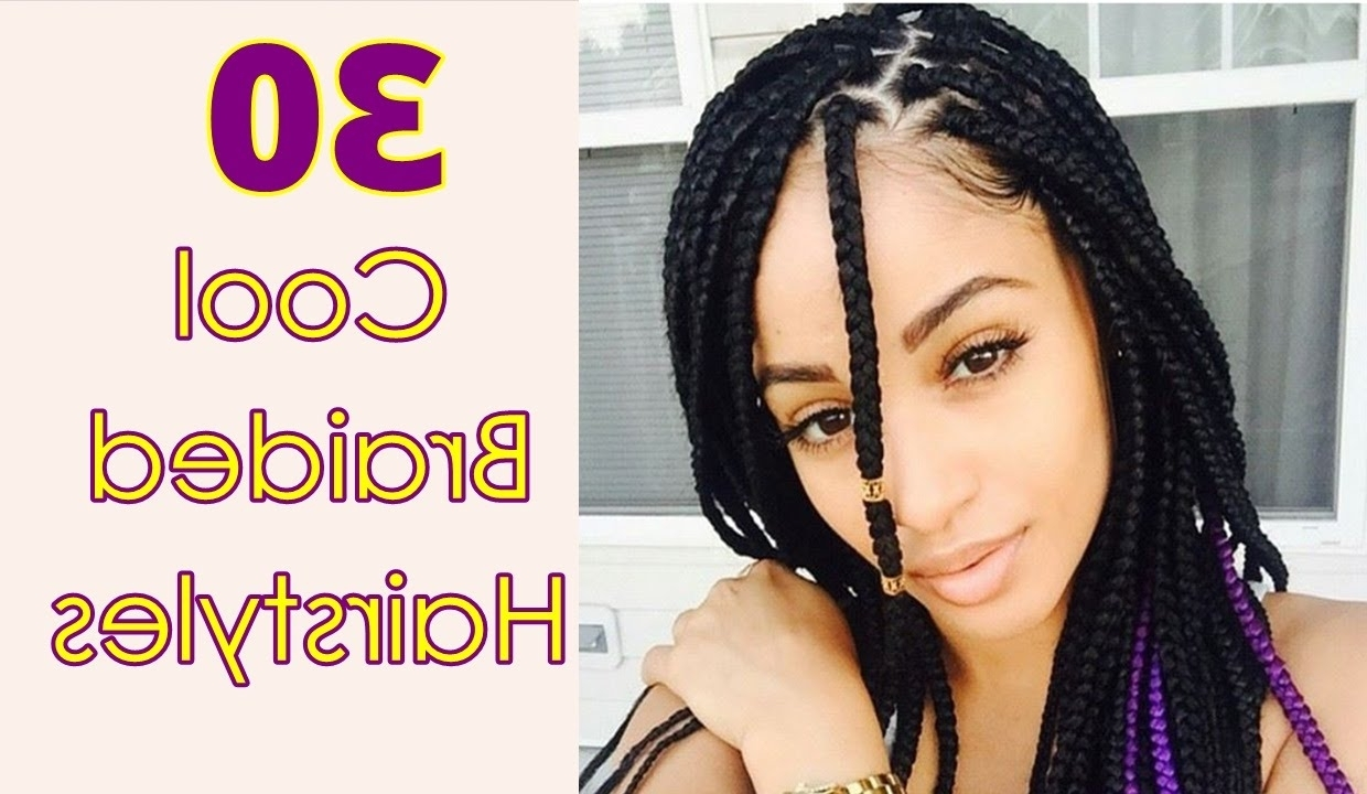 Cool Braided Hairstyles For Long, Short, Medium Hair Black Women With Regard To Famous Long Braids For Black Hair (View 12 of 15)