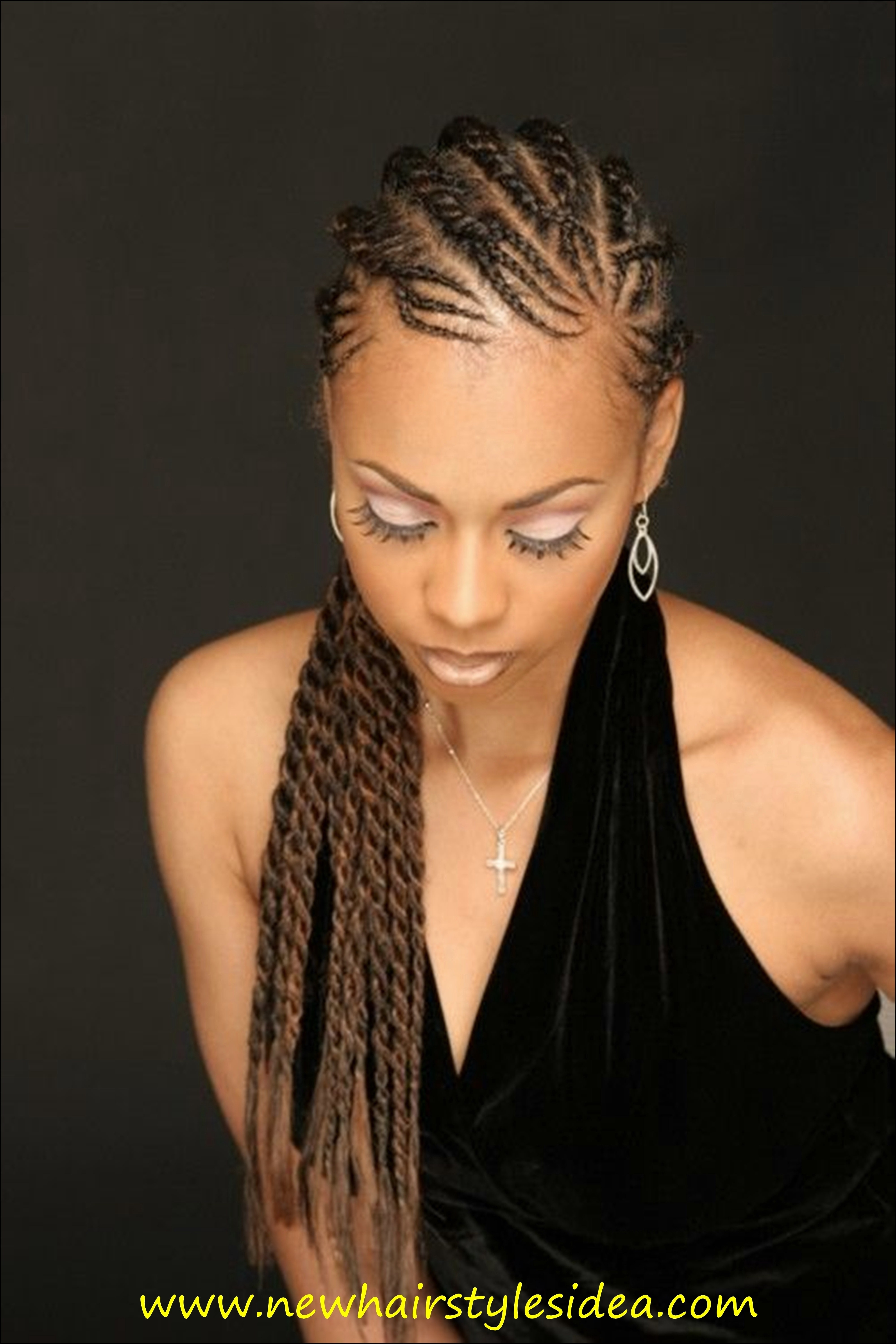 Cornrow Hairstyles 2016 – Best Hairstyle 2018 Regarding Fashionable Cornrows Hairstyles For Square Faces (View 7 of 15)
