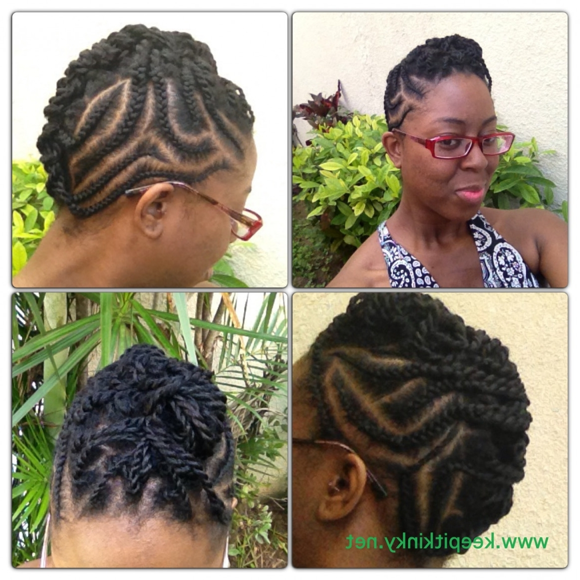 photo gallery of cornrows hairstyles for natural hair viewing 12 of