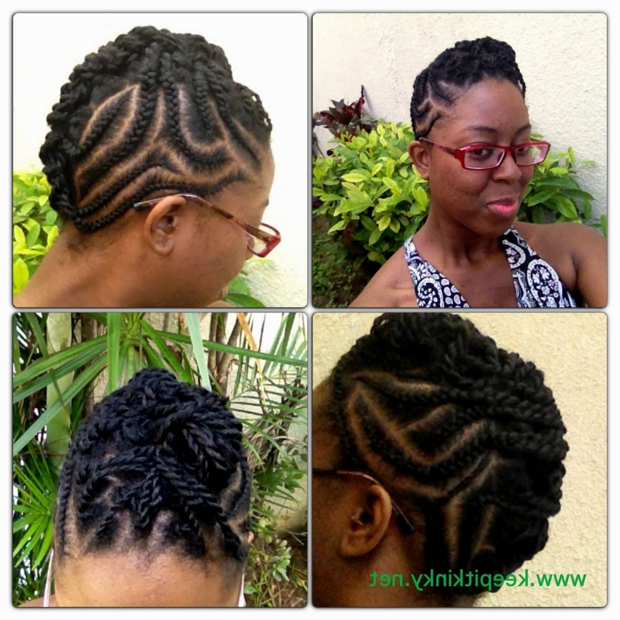 Cornrow Hairstyles Short Hair (View 14 of 15)