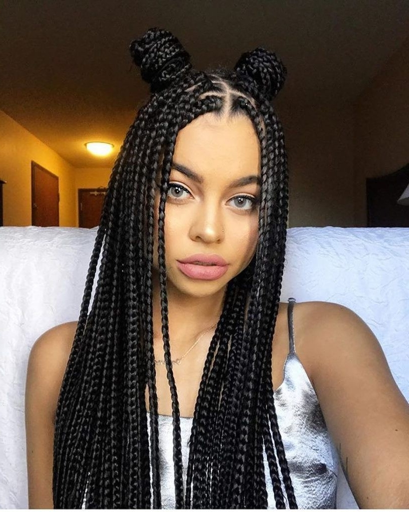 Cornrow Hairstyles To The Side Archives – Hairstyles And Haircuts In Pertaining To Well Known Side Cornrows Hairstyles (View 8 of 15)