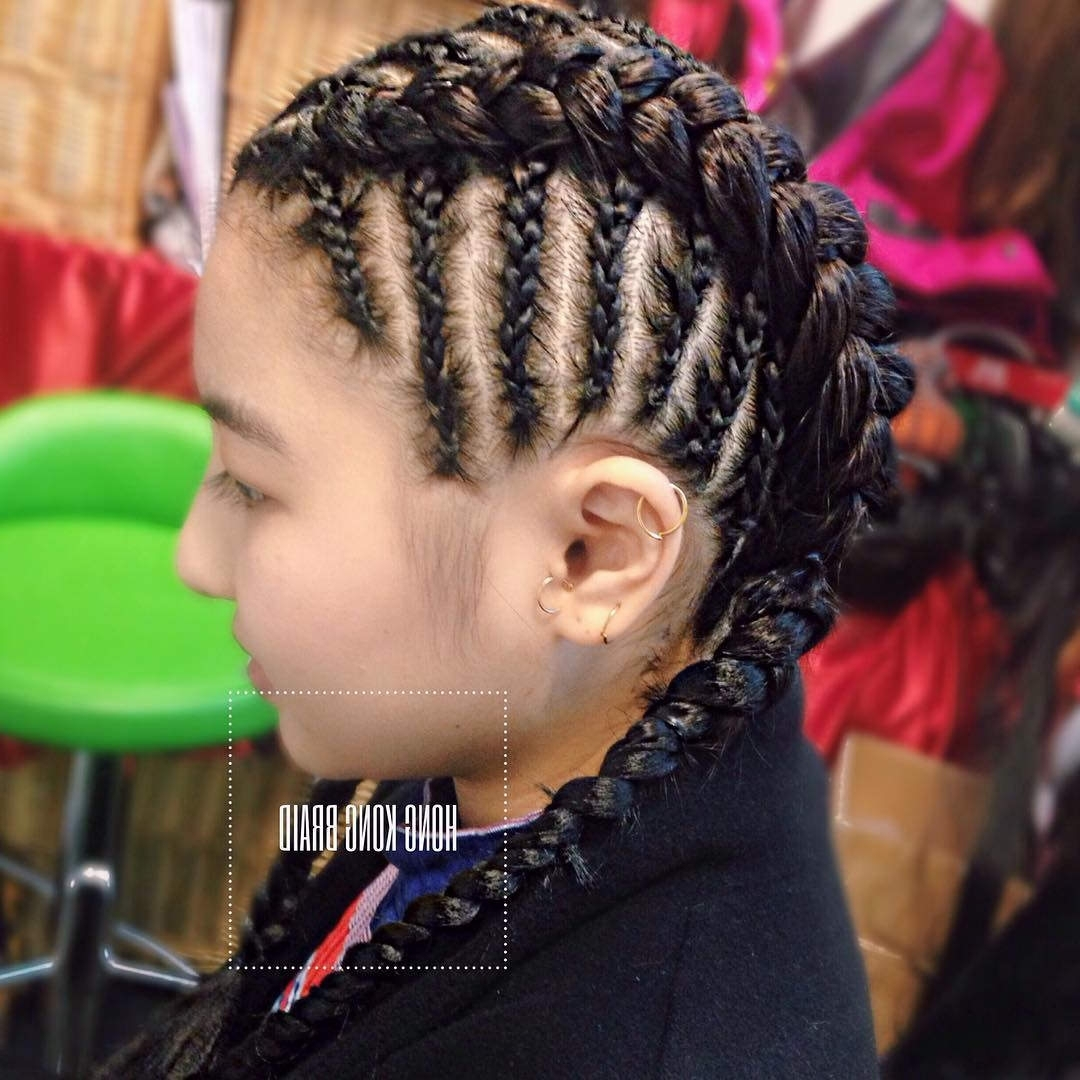 Cornrows Braids Cornrow Braids Cornrows Hairstyles For Women New Throughout Trendy Cornrows Hairstyles With Braids (View 5 of 15)