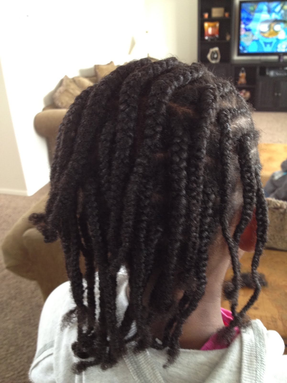 Cornrows Braids Extensions: Half Cornrows Half Box Braids Pertaining To Preferred Half Cornrows Half Individual Braids (View 1 of 15)