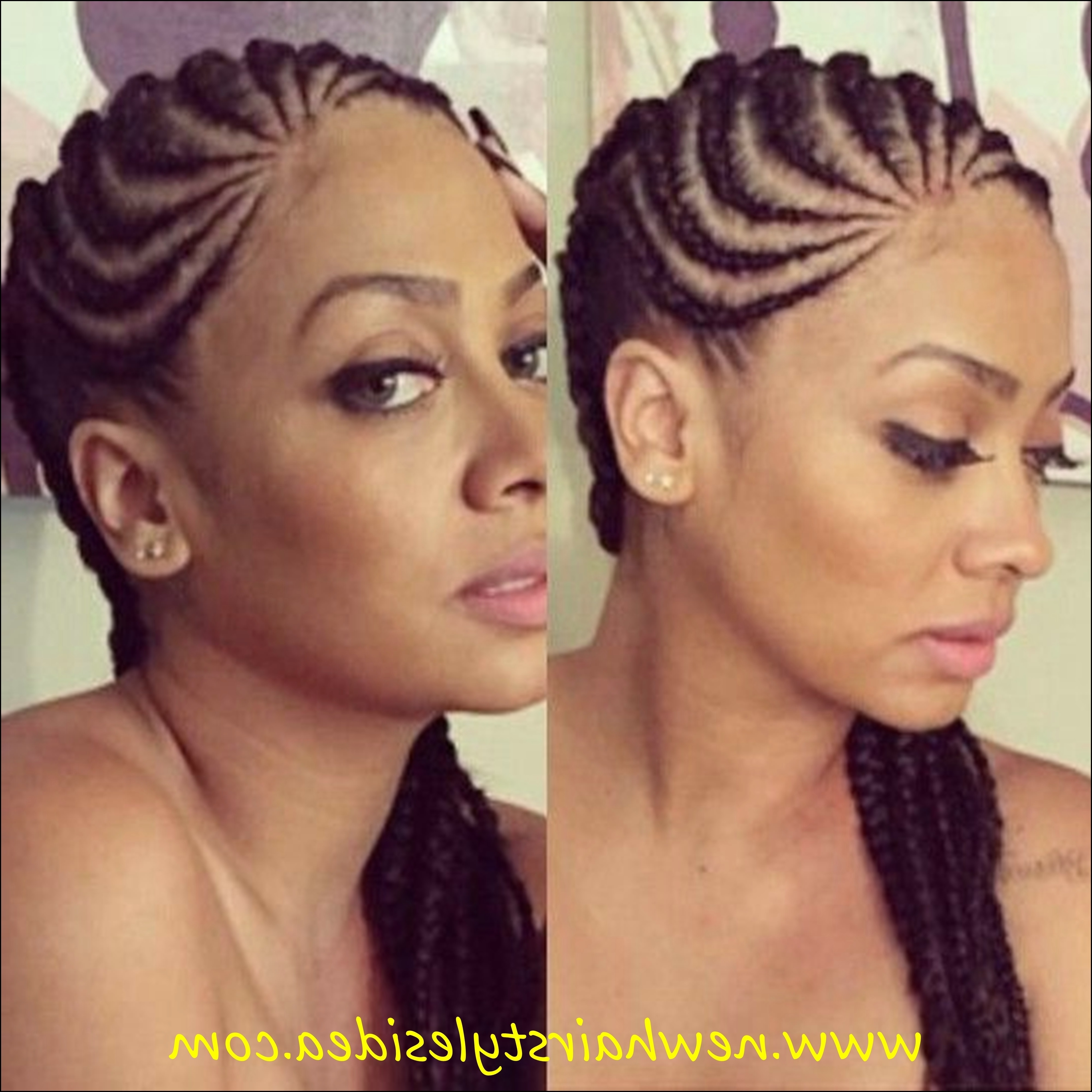 Cornrows Styles For Oval Faces Cornrow Hairstyles For From Modern With Regard To Recent Modern Cornrows Hairstyles (View 11 of 15)