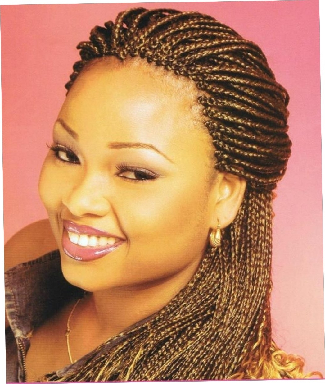 Cornrows Styles For Oval Faces Cornrow Hairstyles For Round Faces With Regard To Trendy Cornrows Hairstyles For Oval Faces (View 6 of 15)