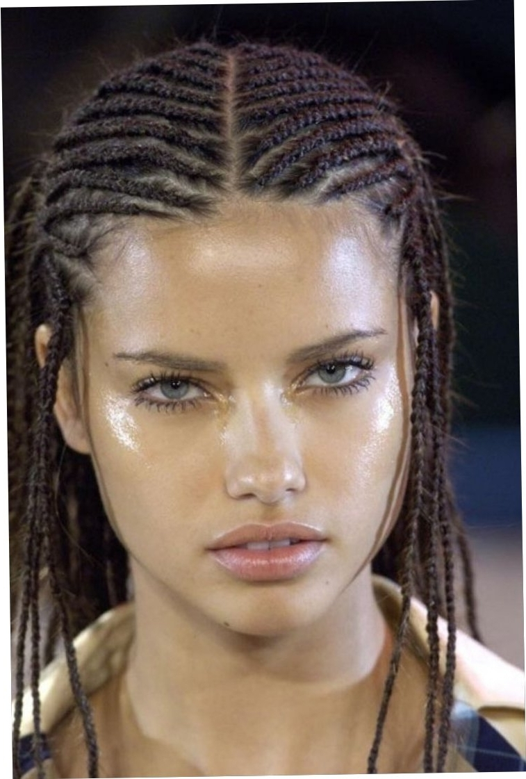 Cornrows Styles For Oval Faces Stylish Cornrow Hairstyles For 2016 For Recent Cornrows Hairstyles For Oval Faces (View 8 of 15)