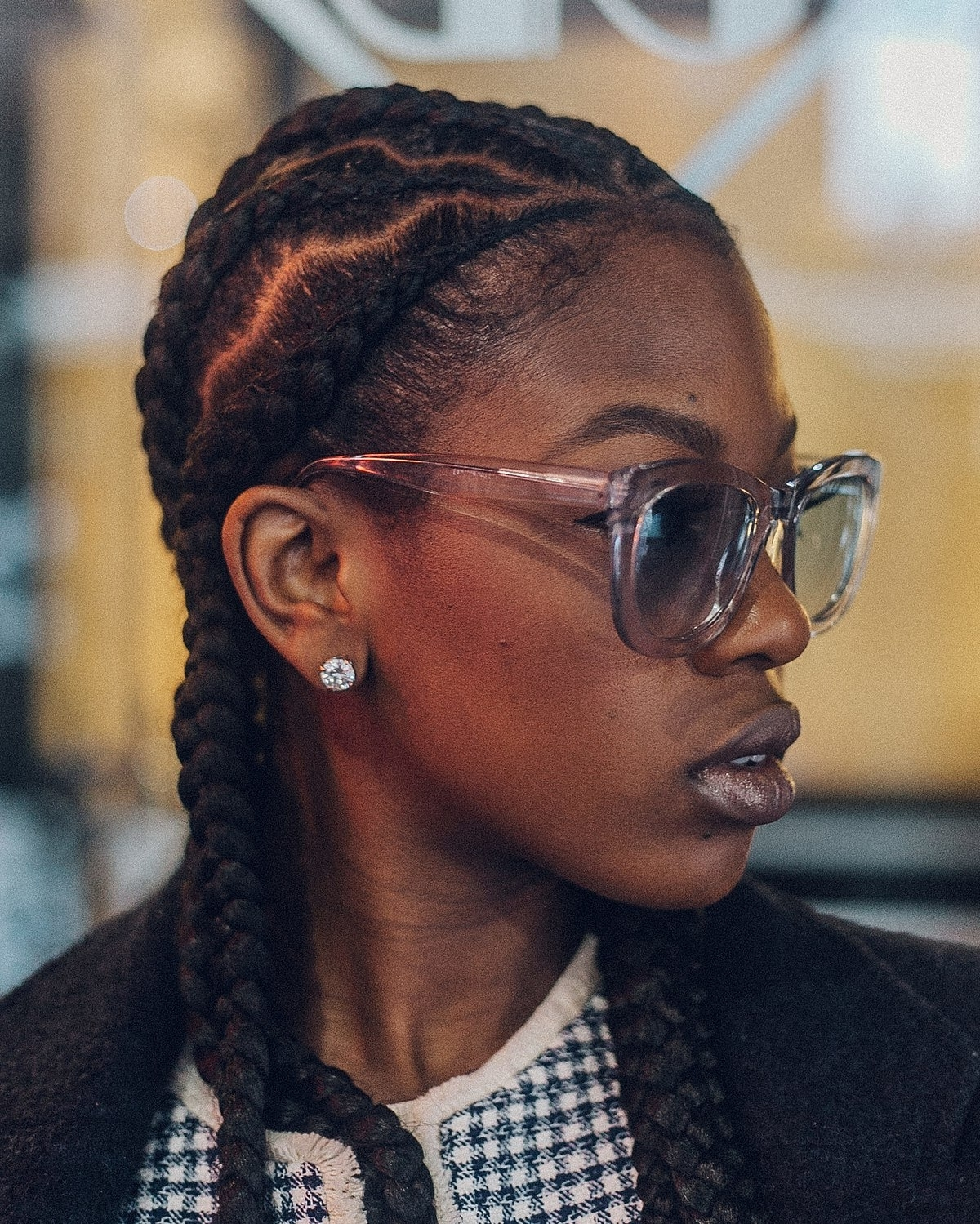 Cornrows – Wikipedia In Well Liked Mini Cornrows Hairstyles (View 3 of 15)