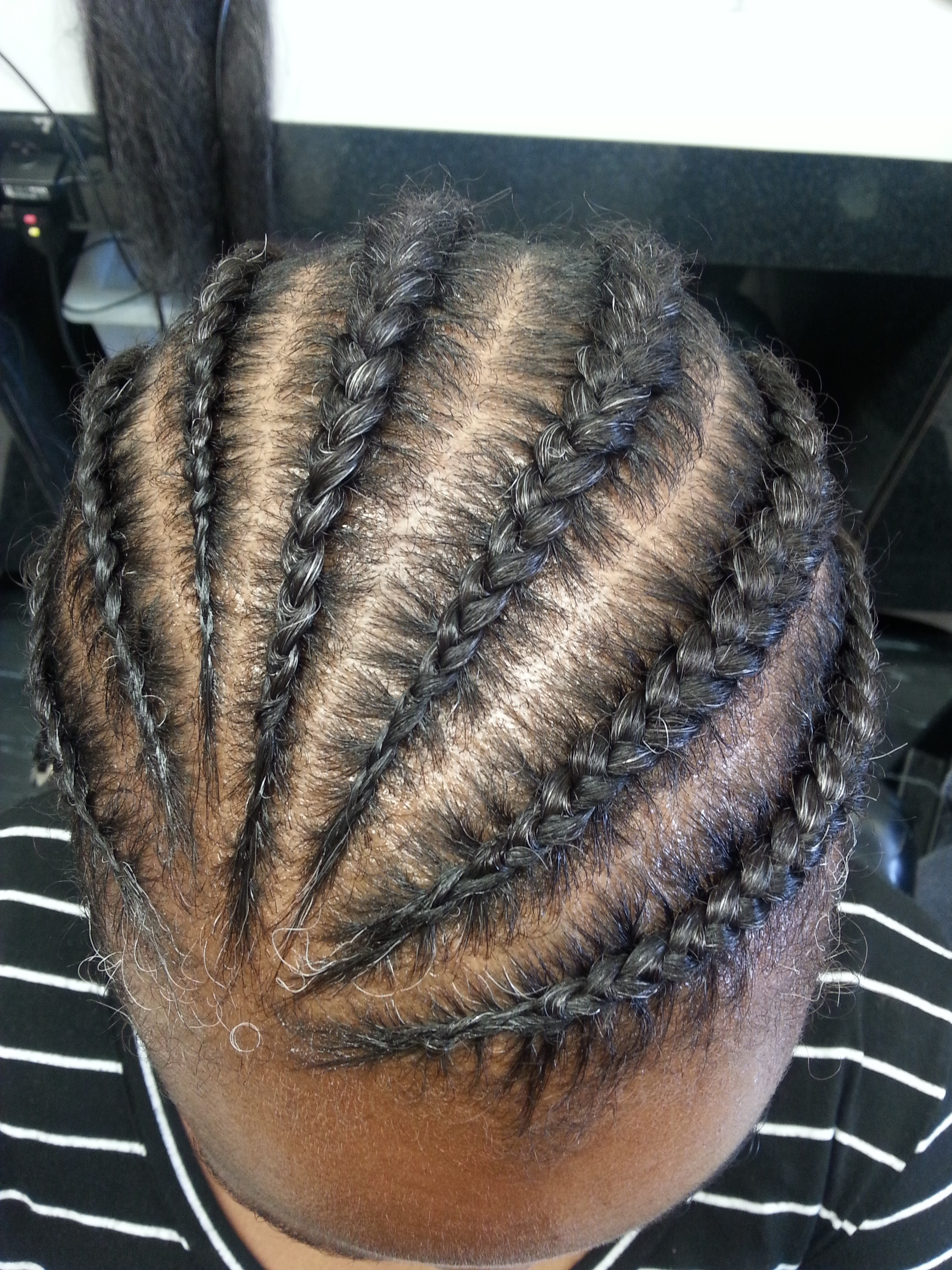 Featured Photo of Cornrows Hairstyles Without Extensions
