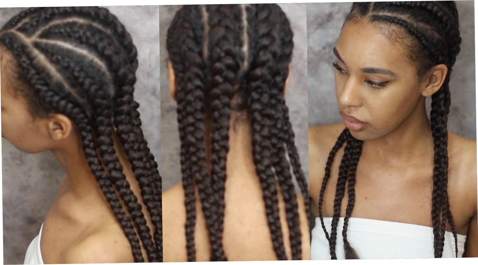 Cornrows With Extensions Protective Hairstyles With Latest Cornrows Hairstyles With Extensions (View 4 of 15)