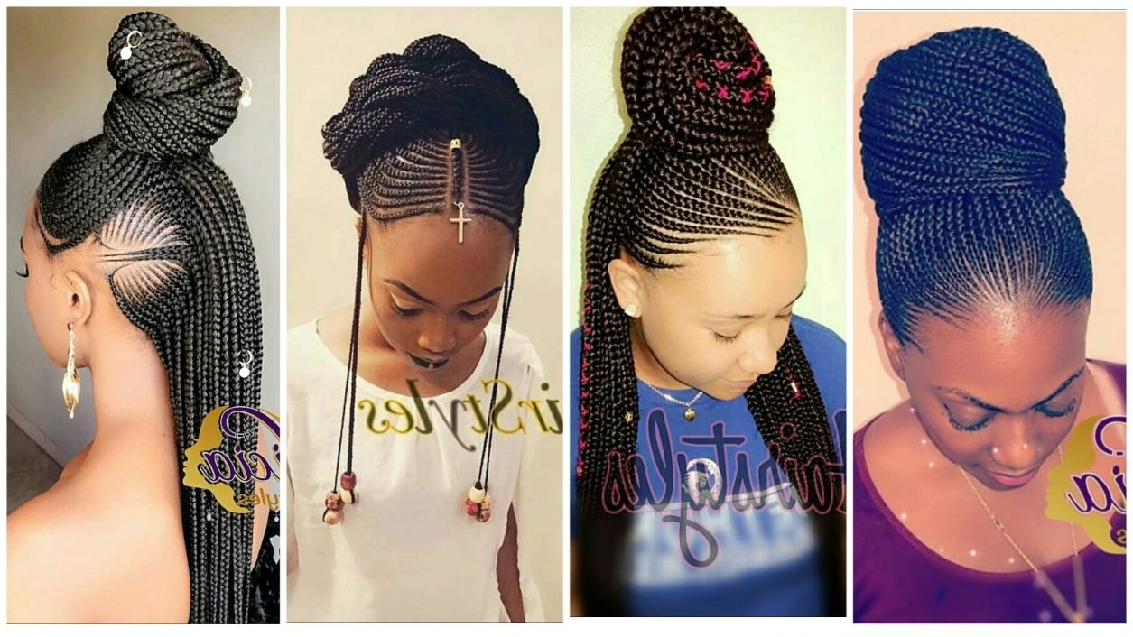 Creative Cornrow Hairstyles: The Best Of 2018 – Wedding Digest Naija In Well Known Jalicia Cornrows Hairstyles (View 5 of 15)