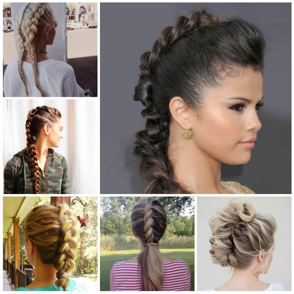 Creative Mohawk Braid Hairstyle Ideas For (View 8 of 15)