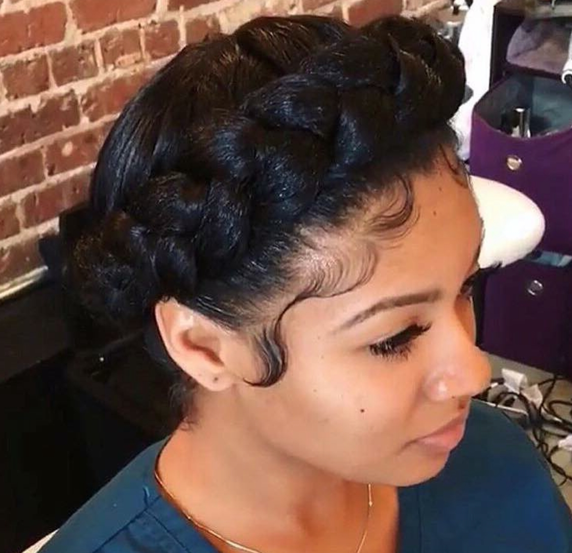 Crown Braid Black Hair – Images Black Hair Surion With Regard To Most Up To Date Dutch Braid Crown For Black Hair (View 5 of 15)