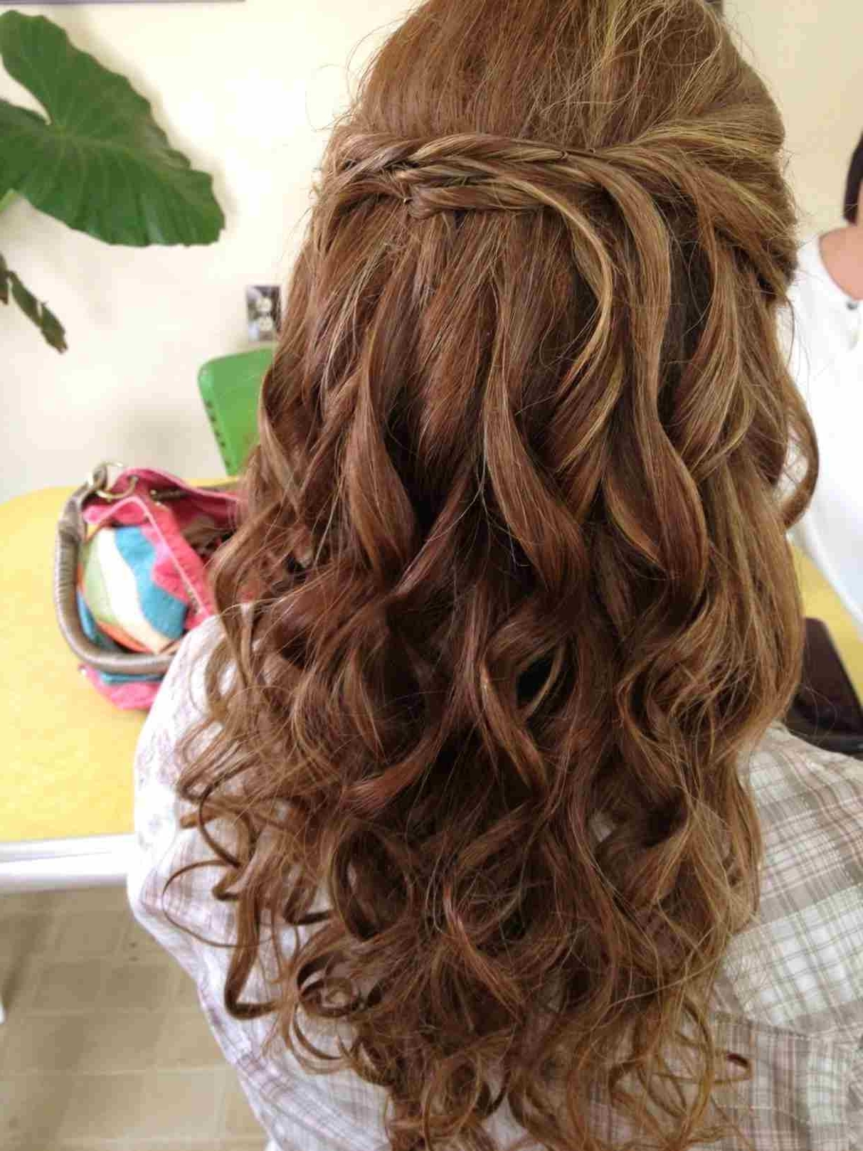 Curly French Braid Hairstyles With Curls Prom Hairstyle For Long Inside Famous French Braid Hairstyles With Curls (View 1 of 15)