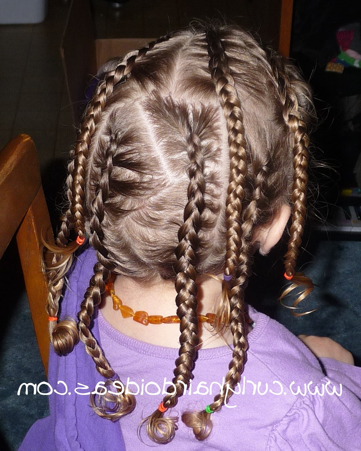 Curly Hairdo Ideas: Crazy Cornrows With Regard To Well Known Crazy Cornrows Hairstyles (View 2 of 15)