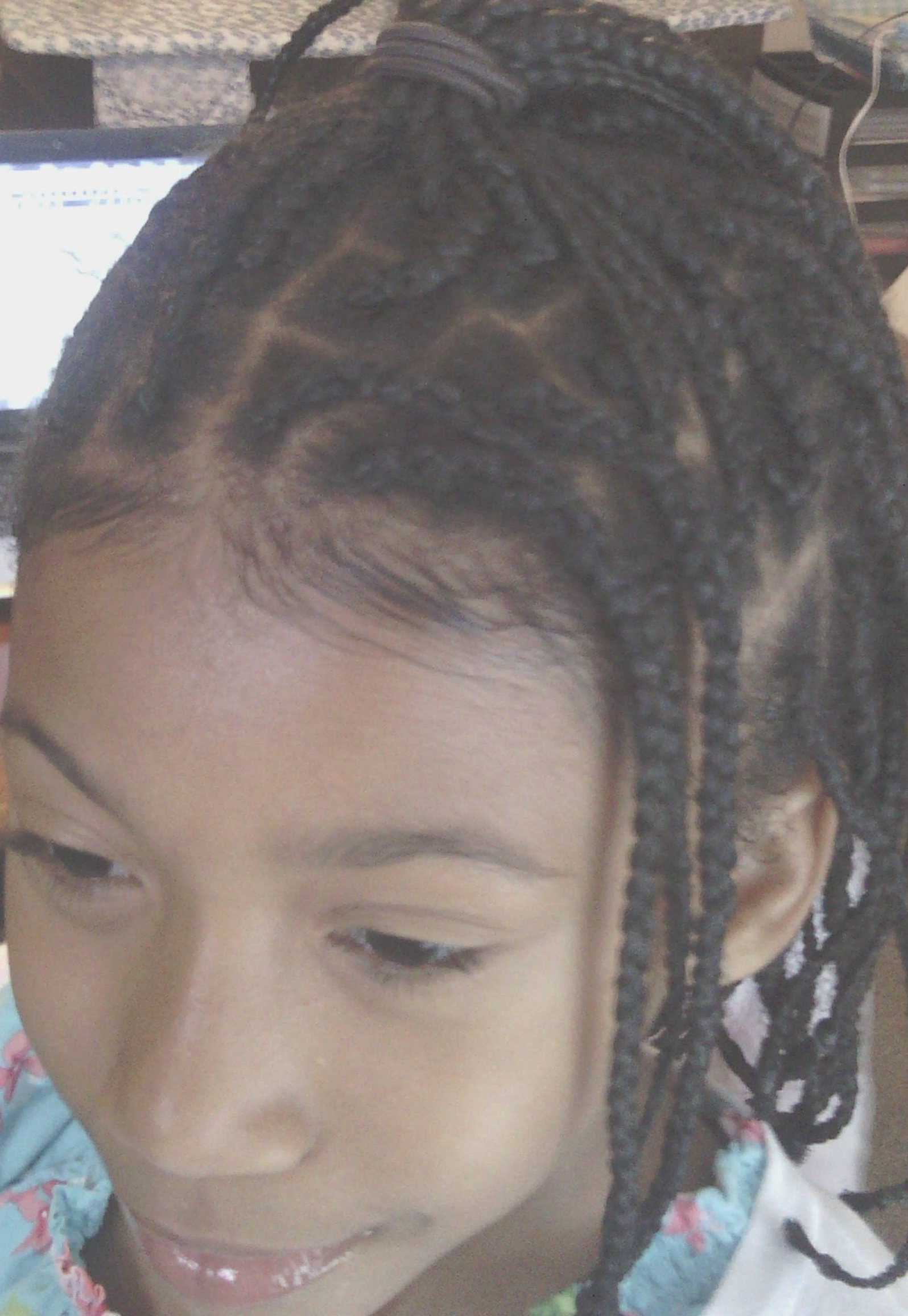 Curlyprincesses » Blog Archive » Week 2 Box Braid Update Pertaining To Latest Braided Hairstyles Without Edges (View 6 of 15)
