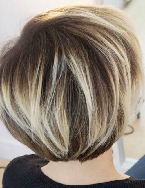 Current Balayage Pixie Haircuts With Tiered Layers Within 25 Trendy Balayage Looks For Short Hair (View 4 of 15)