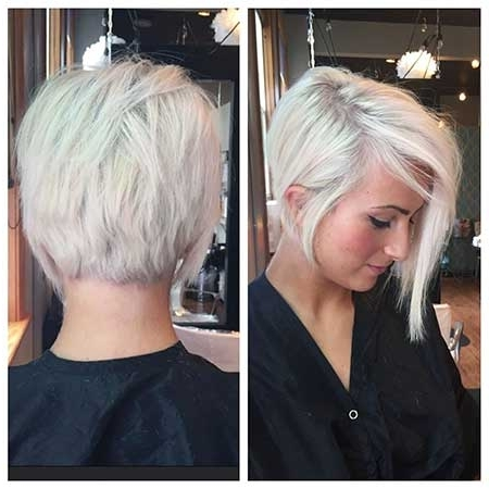 Current Bleach Blonde Pixie Haircuts With Regard To 20+ Pics Of Short Bleach Blonde Hairstyles (View 6 of 15)