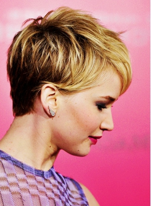 Current Blonde Pixie Haircuts With Short Angled Layers With 20 Chic Pixie Haircuts For Short Hair – Popular Haircuts (View 9 of 15)