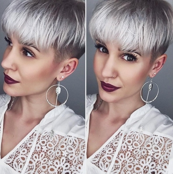Current Choppy Bowl Cut Pixie Haircuts In 20 Shorter Hairstyles Perfect For Thick Manes – Popular Haircuts (View 12 of 15)
