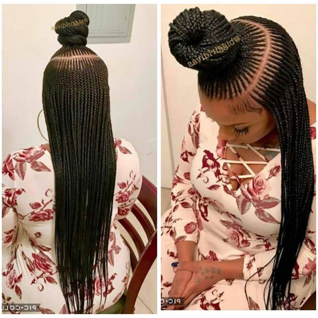Current Cornrow Hairstyles Up In One Pertaining To These Gorgeous Up Do Cornrows Will Make You Ask Your Hairdresser For (View 12 of 15)