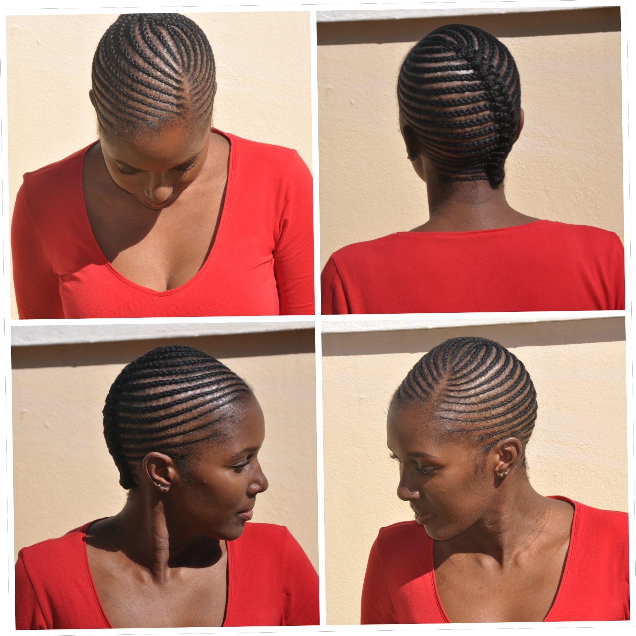 Current Cornrows Hairstyles For Thin Edges Throughout Simple Hairstyle For Small Cornrow Hairstyles My Former Edges Hair (View 8 of 15)