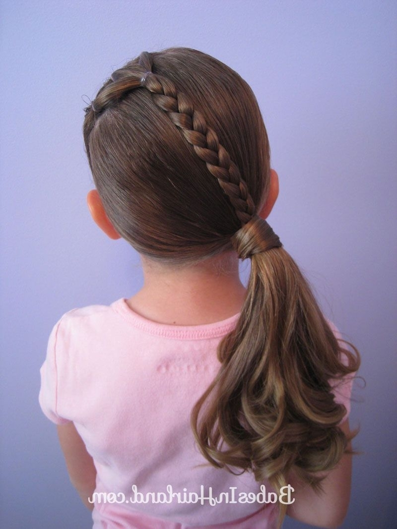 Current Diagonally Braided Ponytail Regarding Ponies And A Diagonal Braid (View 2 of 15)