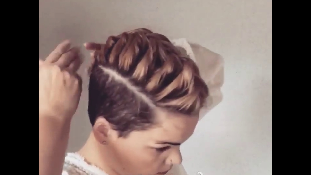 Current Mohawk French Braid Hairstyles Intended For French Braided Mohawk – Youtube (View 4 of 15)