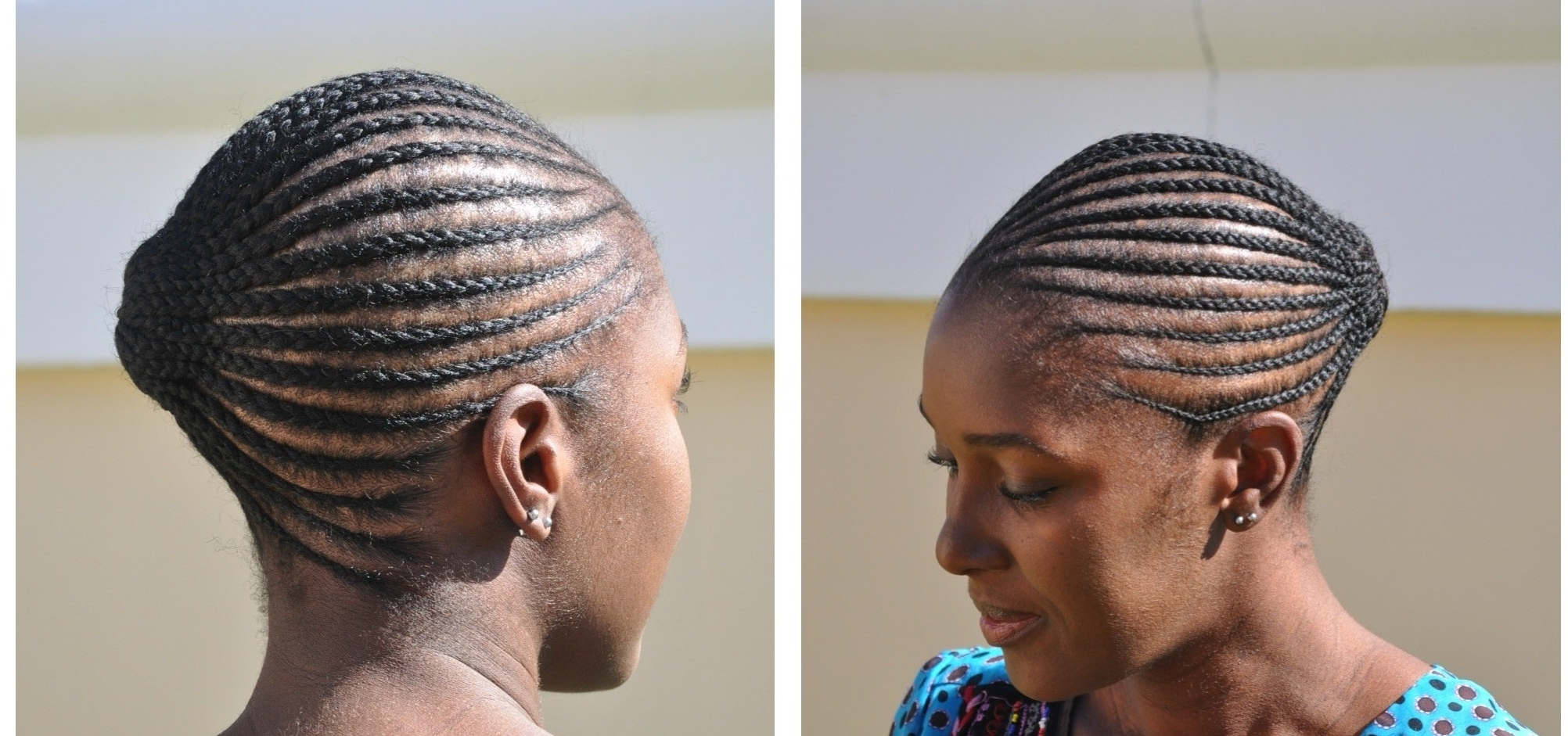 Current Nigerian Cornrows Hairstyles Within Top 10 Gorgeous Hairstyles Nigerian Men Love To See On Their Women (View 10 of 15)