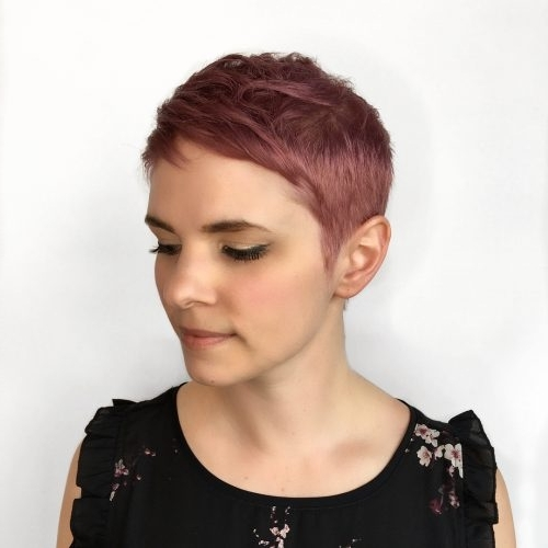Current Rose Gold Pixie Haircuts With Regard To 71 Alluring Rose Gold Hair Color Ideas To Try In  (View 7 of 15)