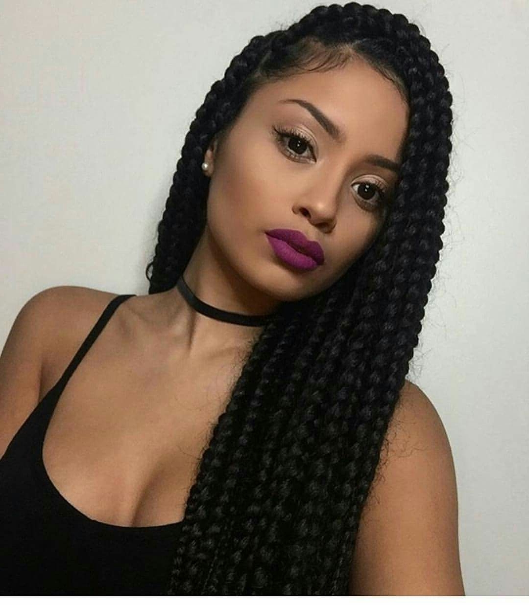 Current Twist From Box Braids Hairstyles With Box Braids Gottalovedesss Braids Locs Twist Best Of Braided And (View 3 of 15)