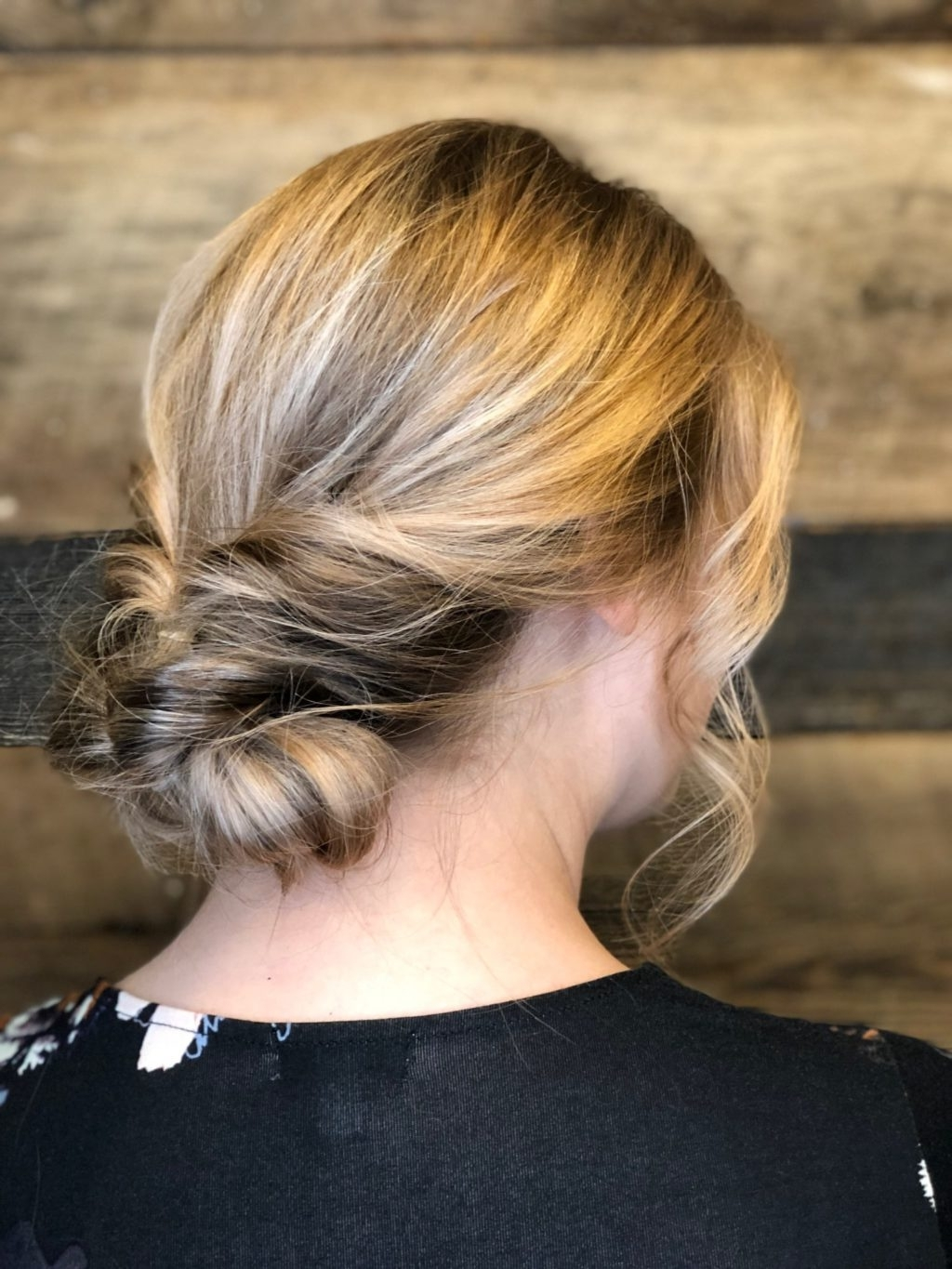 Current Twisted Updo With Blonde Highlights Throughout Hair Services Color & Highlights – Triniti Salon, Cary Nc (View 4 of 15)