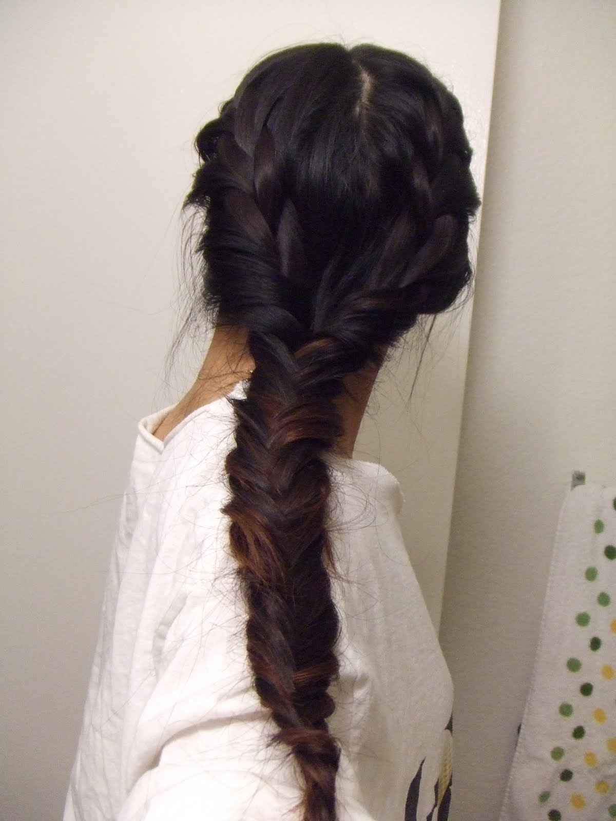 Current Two Braids Into One In The Beauty Owl: Princess Anne Hairstyle^^ (View 3 of 15)