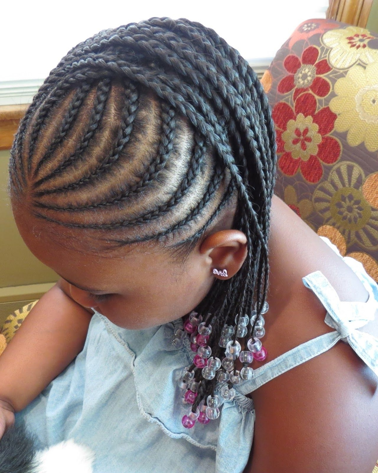 Curves Curls & Style: Natural Hair: Summer Styles For Kids With Fashionable Braids Hairstyles With Curves (View 6 of 15)
