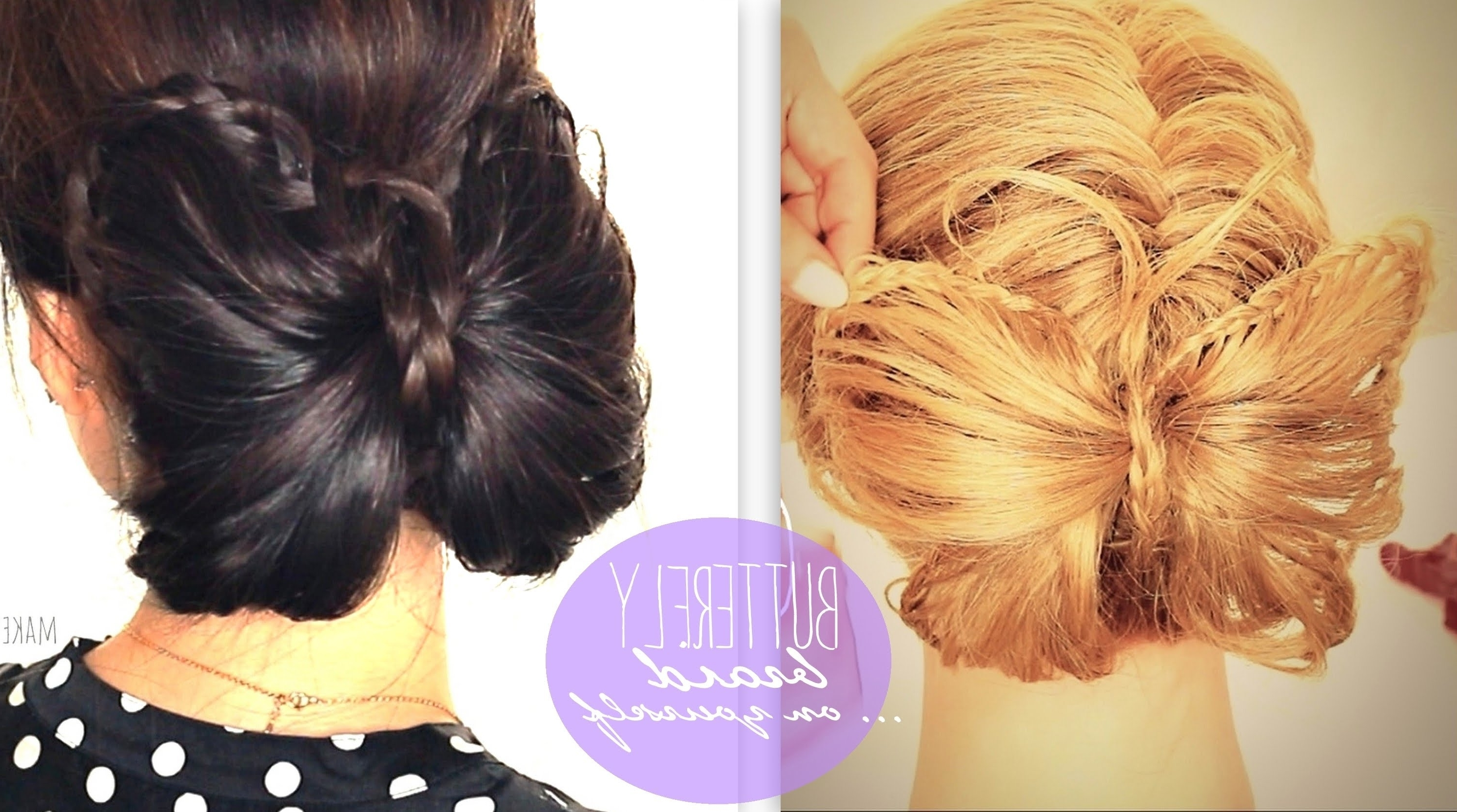 Cute Bun Holiday Hairstyles For Medium (View 4 of 15)