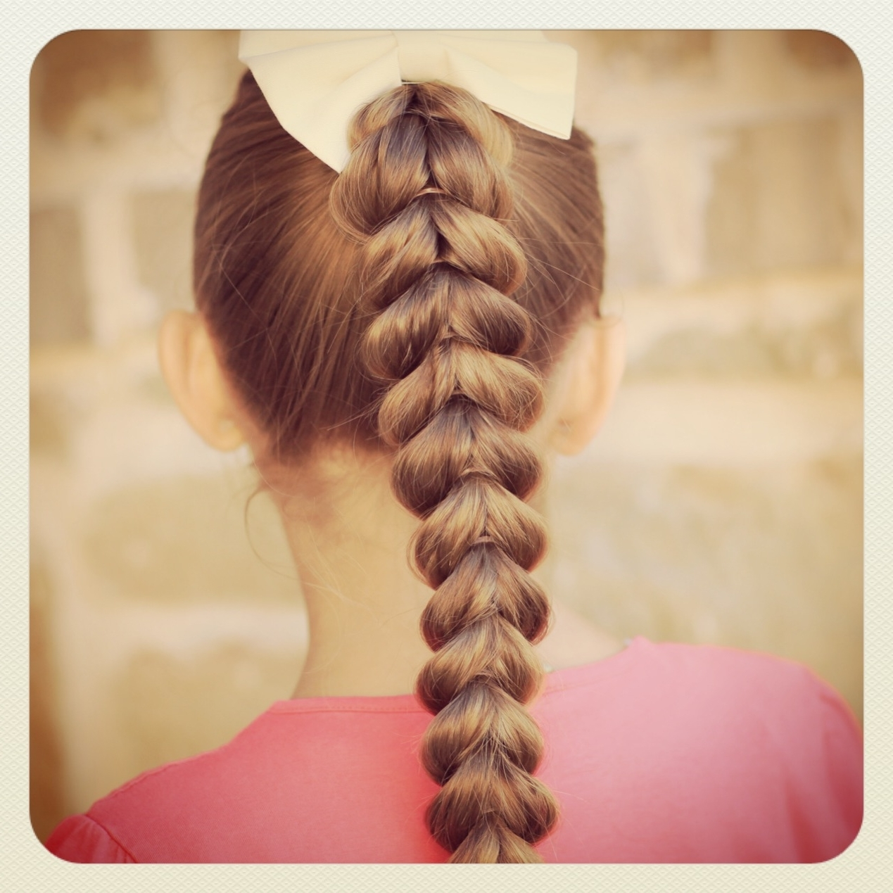 Cute Girls Hairstyles Regarding Trendy Simple French Braids For Long Hair (View 8 of 15)